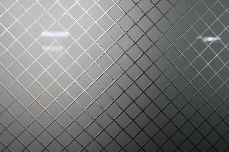 Glass etching designs texture