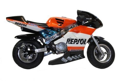 kids childrens mini moto pocket bike 50cc ebay moto. Black Bedroom Furniture Sets. Home Design Ideas