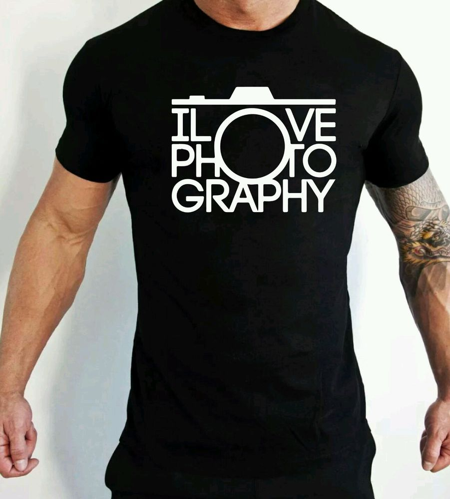 I love photography t shirt camera hipster dise os de for Disenos de remeras