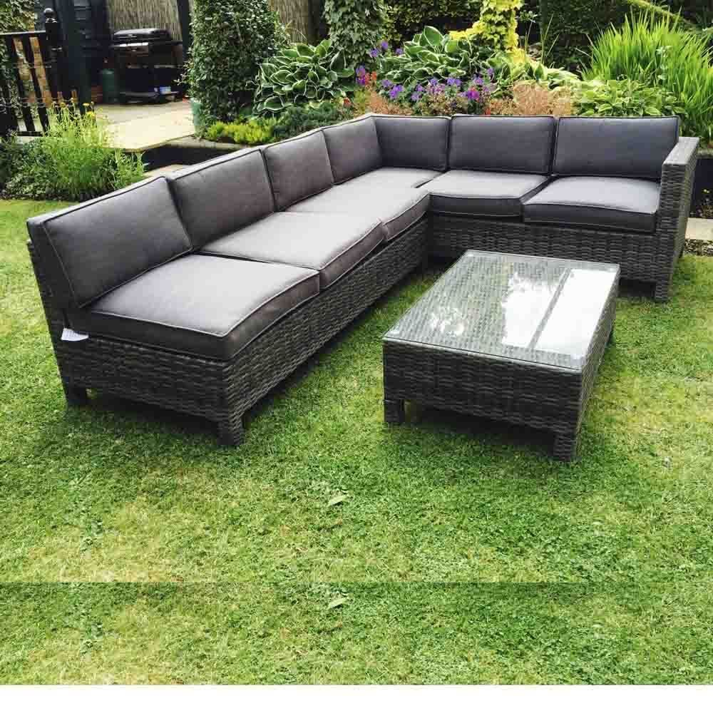 rattan garden corner sofa in Garden & Patio, Garden