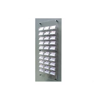 24 bay business card holder shop retail display stand ebay 24 bay business card holder shop retail display stand ebay reheart Gallery