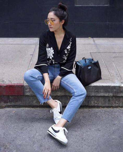 Casa micro Impuestos  como combinar unas nike cortez, adidas stan smith. Outfit sneakers style .  trendy #Sneak… | Womens winter fashion outfits, Nike cortez outfit, Fashion  clothes women