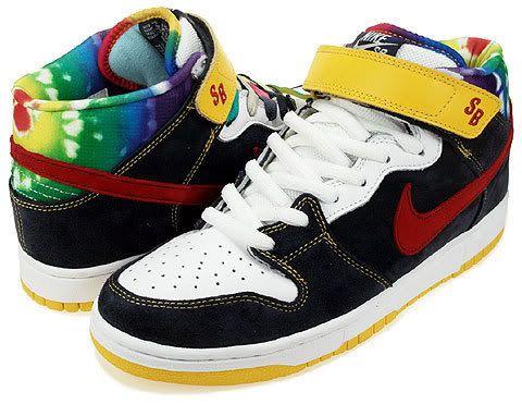 super popular a2c50 7782b Nike - rainbow splash on the back of Nike shoe.