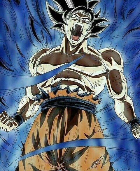 Goku Limit Break Dragon Ball Super Manga Dragon Ball Goku Dragon Ball Art