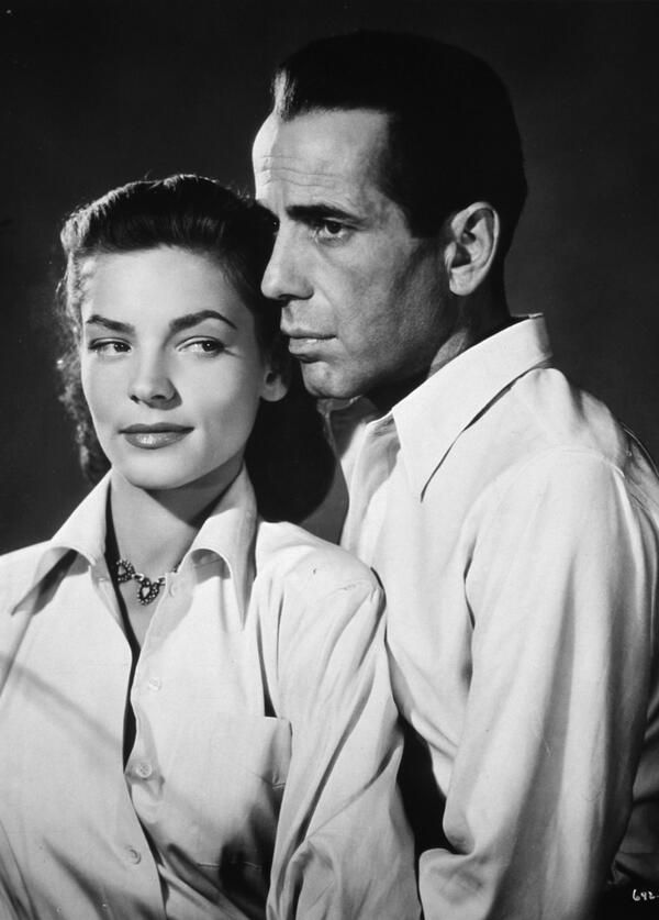 Lauren Bacall & Humphrey Bogart for Key Largo (1948).