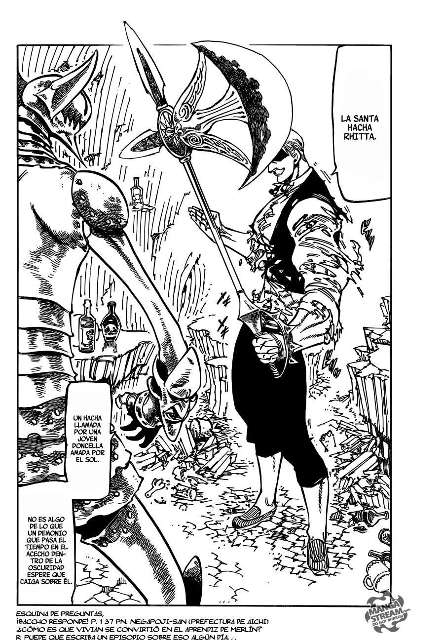 Nanatsu no Taizai Capitulo 148 El juego de Garan página 21 - Leer ...