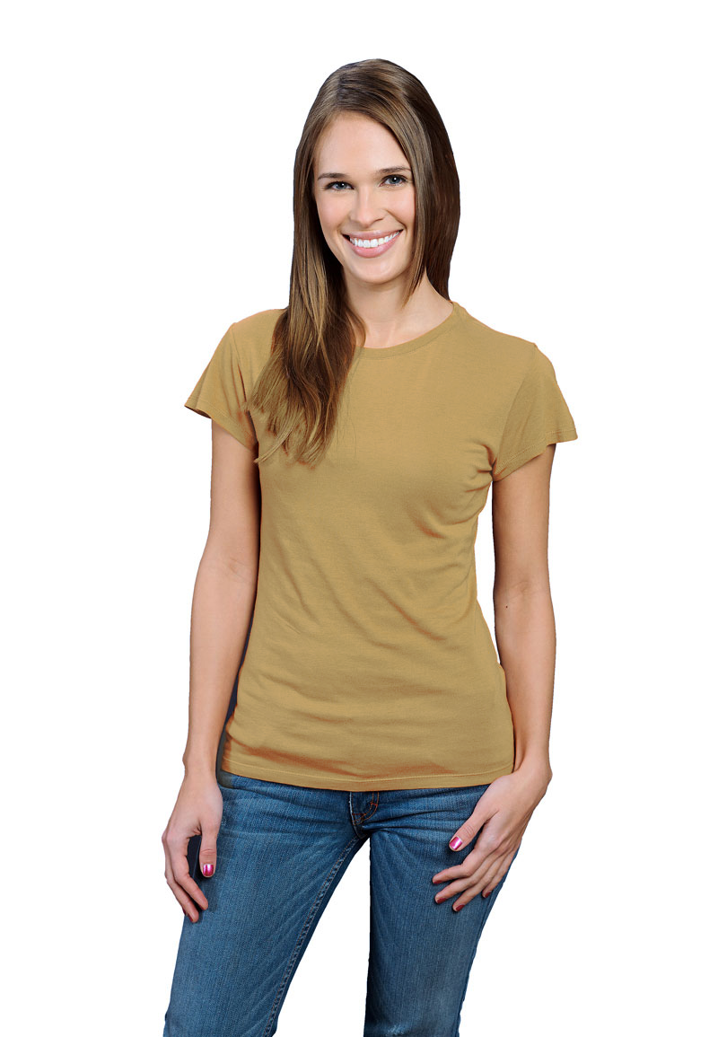 dbe328873fb8 Mustard ONNO bamboo + organic cotton t-shirt for women. Embrace your inner  spices. Let your turmeric side show with this mustard women's t-shirt.