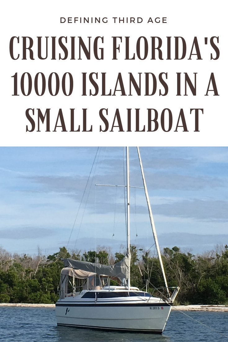Florida's 10000 Islands are incredible...learn more about a short cruise on a small sailboat. Part of an active retirement...