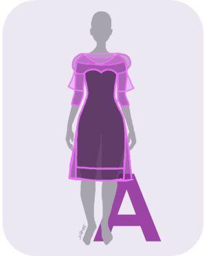 festliche kleider f r jede figur die besten silhouetten f r jeden figurtyp tipps f r den a. Black Bedroom Furniture Sets. Home Design Ideas