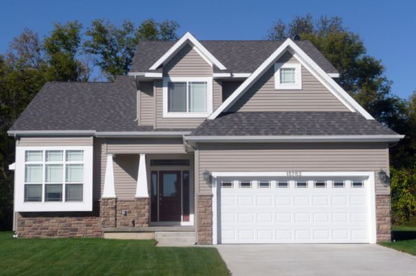 CVE Homes   Lansing Michigan New Homes for sale   Exterior House ...