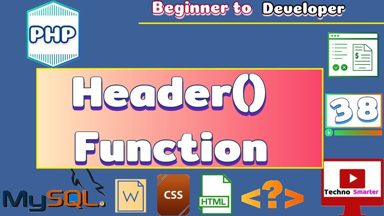 Header Function In Php Redirection Operation Tutorials For
