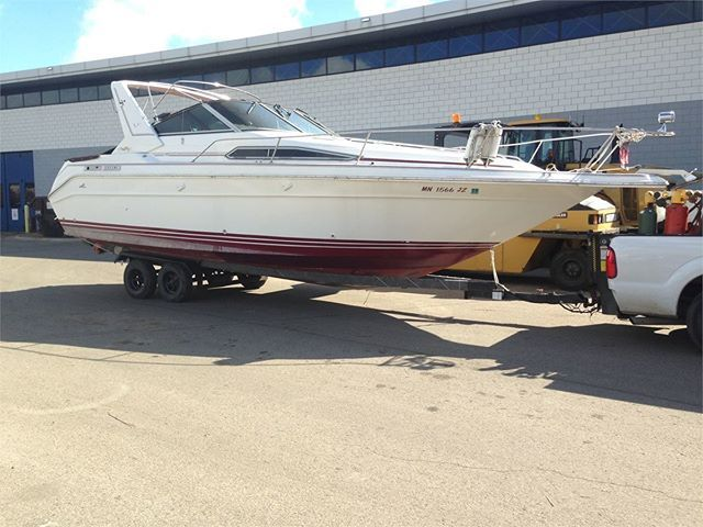 Check out this 1989 280 SEA RAY CABIN CRUISER that is up for auction on Municibid.com right now! #1989 #SeaRay #Cabin #Cruiser #MN #OnlineAuction #Auctions #ForSale #Auction #Boat