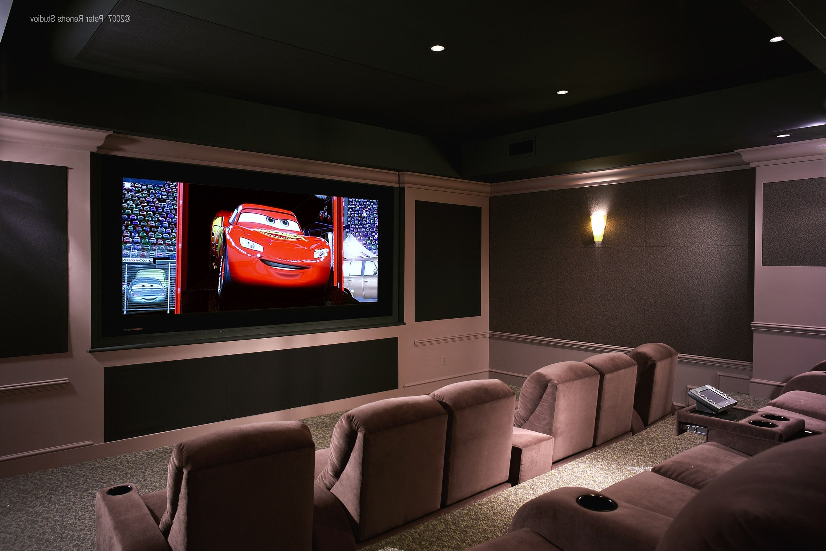 home theater room design modern home design small home cinema room backgrounds - Home Theater Room Design