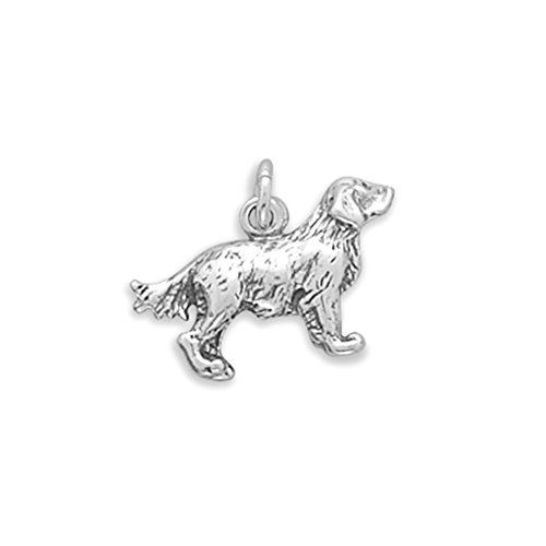 Dog Breed Golden Retriever Charm Sterling Silver Read More At