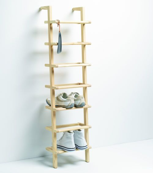 Wooden Ladder Shoe Rack Tall Racks Storage Shelves Boot Welly Stands More