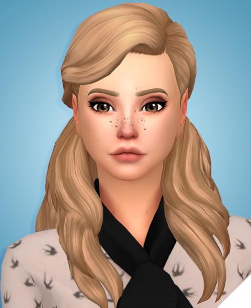 Sims 4 couleur cheveux