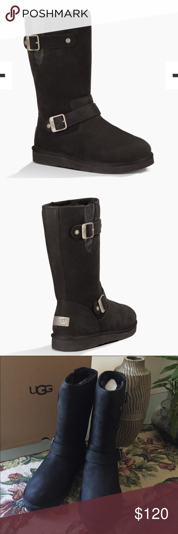 bf44549a1ad NEW UGG SUTTER. Black Model: 1005374 A Treadlite by UGG™ outsole ...
