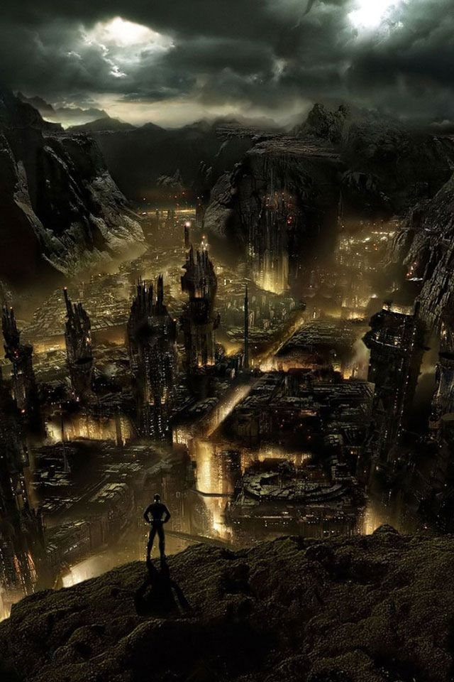 This Was It The City Of Ember Fantasy City City Of Ember Dark City