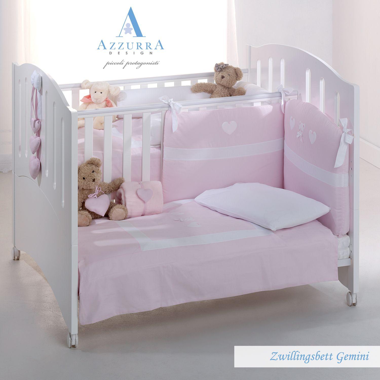 zwillingsbett gemini - kinderbett zwillinge azzurra design