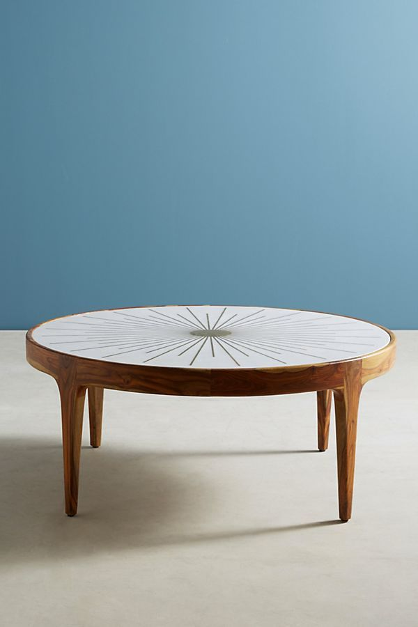Brass Starburst Round Coffee Table 3 Bets Round Coffee Table