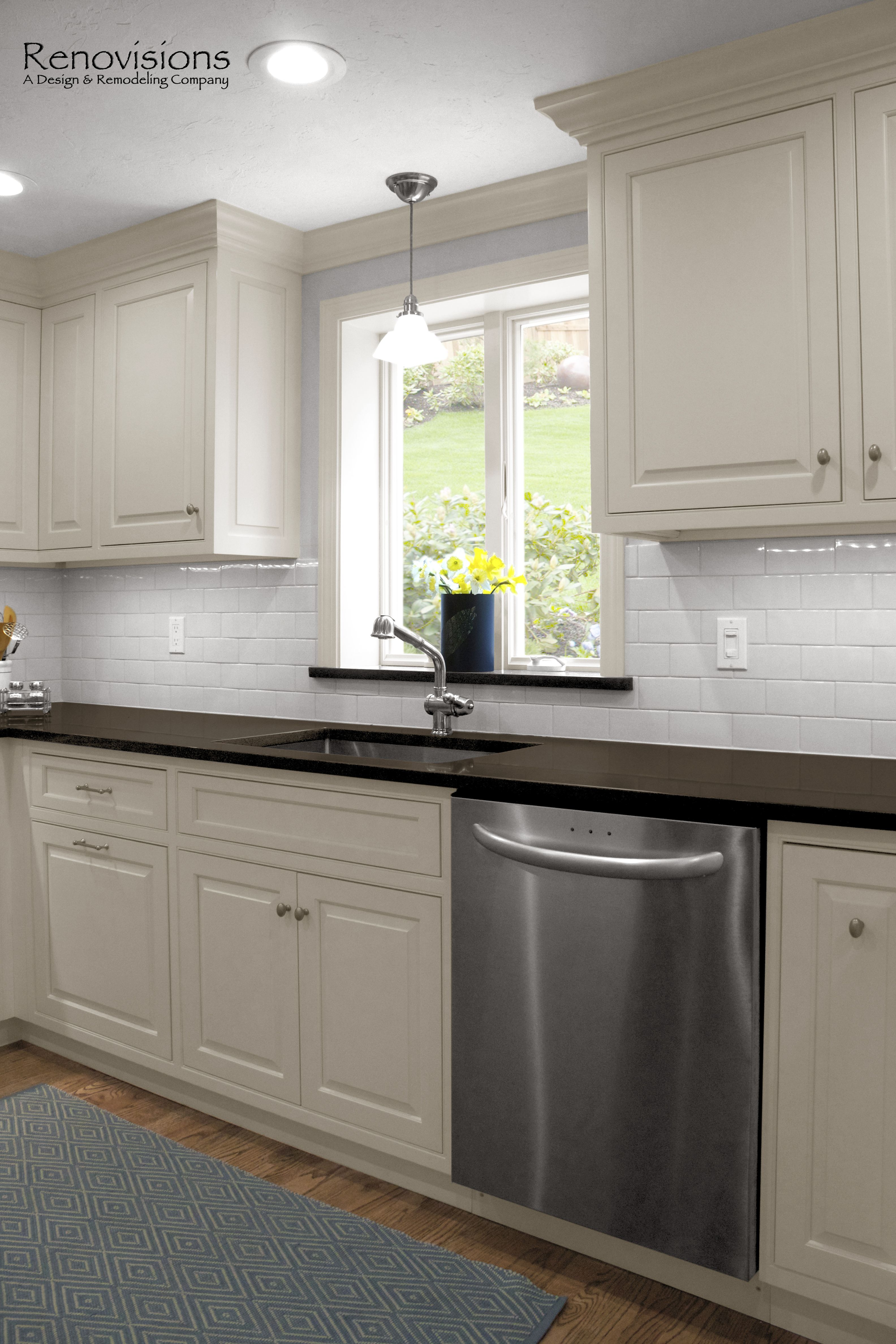 Kitchen Remodel By Renovisions Custom Painted White Inset Cabinets Functional Storage Task L Tall Kitchen Cabinets Kitchen Cabinet Design Kitchen Unit Doors
