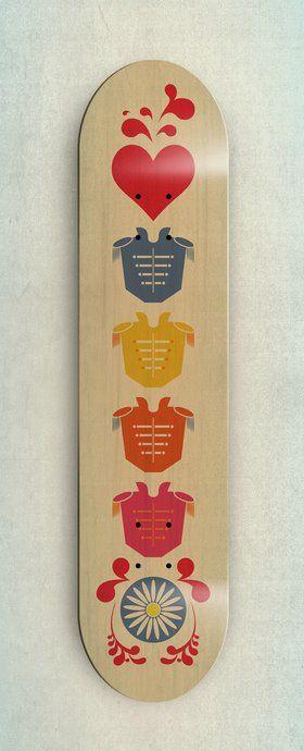 Skateboard Design (inspired by The Beatles) - Rubens E. Galicia