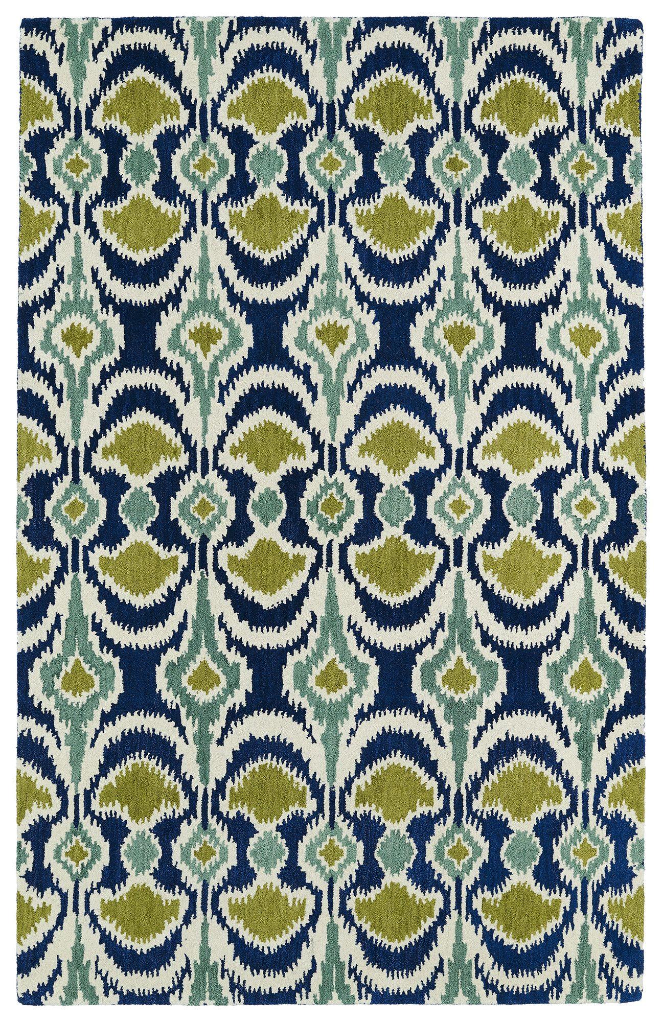Anns Blue/Green Area Rug