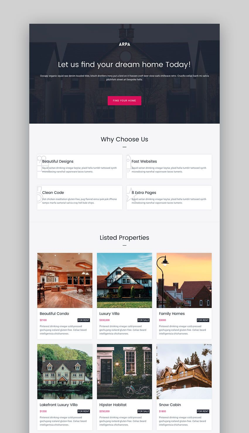20 Best Real Estate Landing Page Examples 2018 Templates Real Estate Landing Pages Landing Page Examples Best Landing Page Design Real estate landing page template