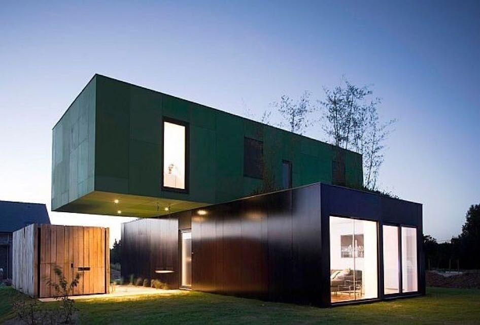 Une très belle maison moderne façon container architectureporn architecturedaily architecturalphotography houseoftheday