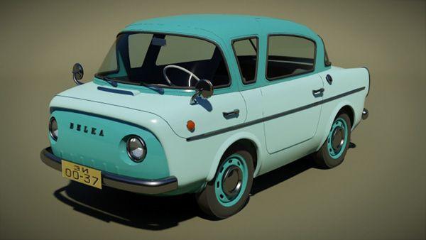 Belka Ukrainian Minicar Concept Cute Cars Weird Cars Mini Cars