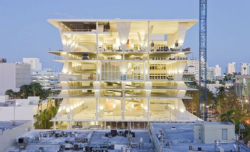 1111 Lincoln Road, Miami. parking garage by Herzog & de Meuron