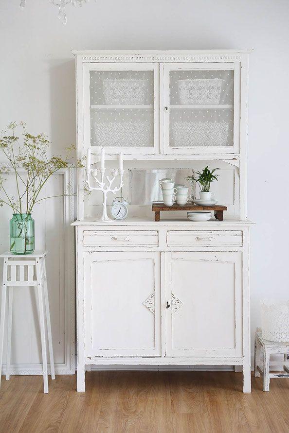 Alter Küchenschrank, kitchen dresser, vintage schrank | Wohnen ...
