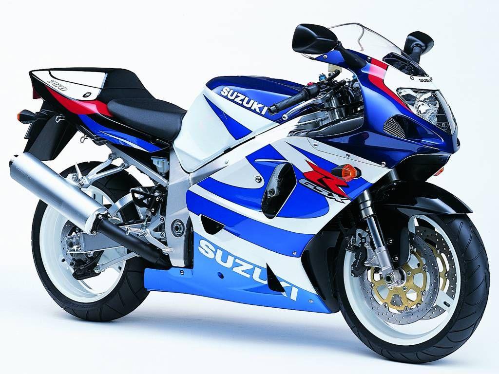 suzuki gsxr   Suzuki GSXR 750 2000 Azul y Blanco