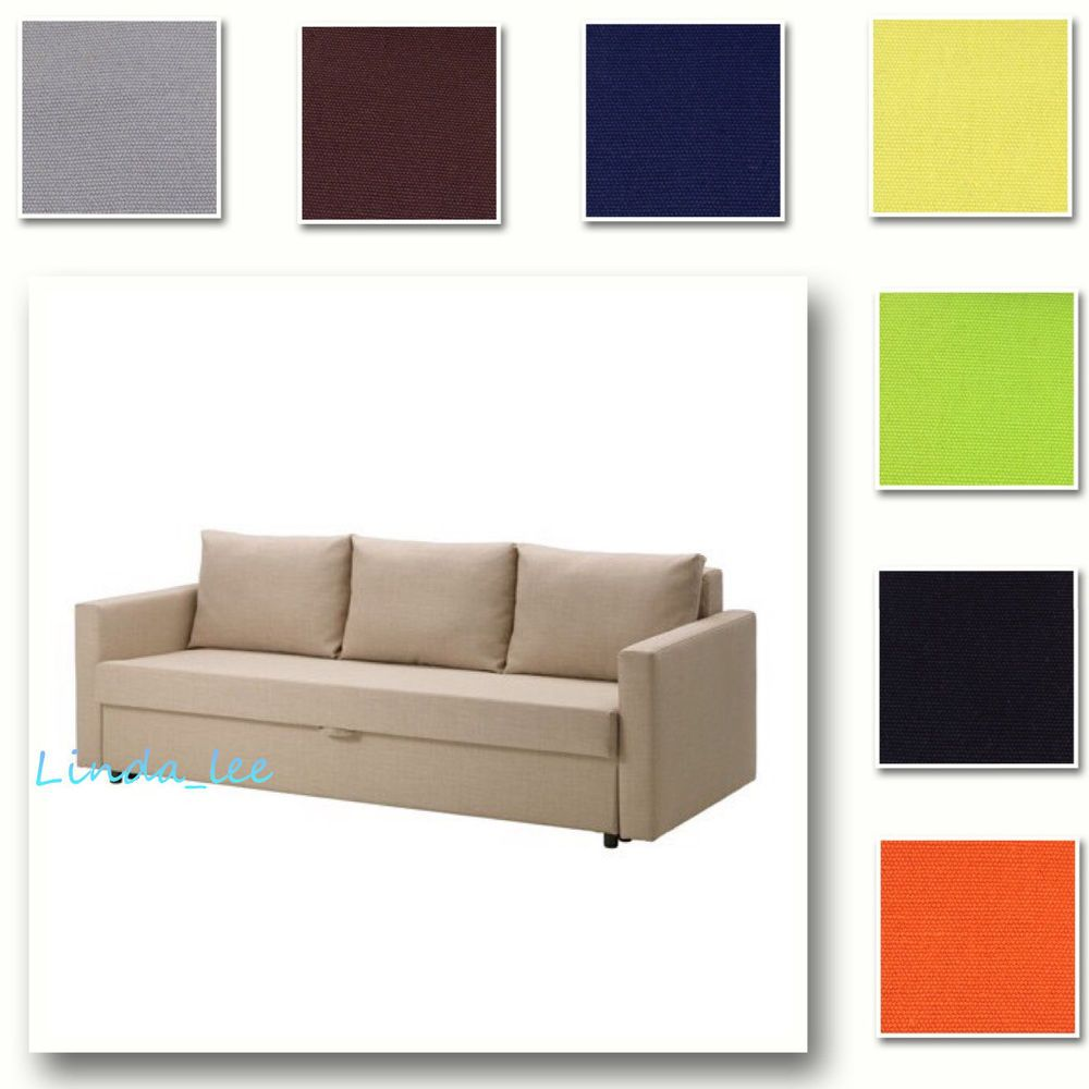 Custom Made Cover Fits Ikea Friheten Sofa Bed Three Seat Sleeper