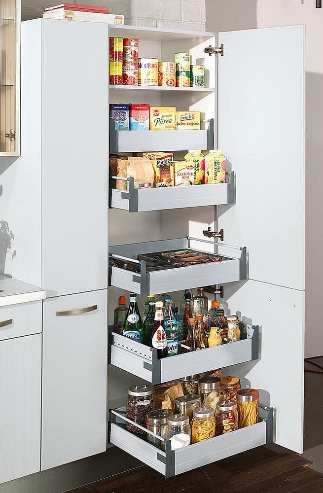 Hochschrank Küche Ada Weiss Hochglanz | Küche | Pinterest ...