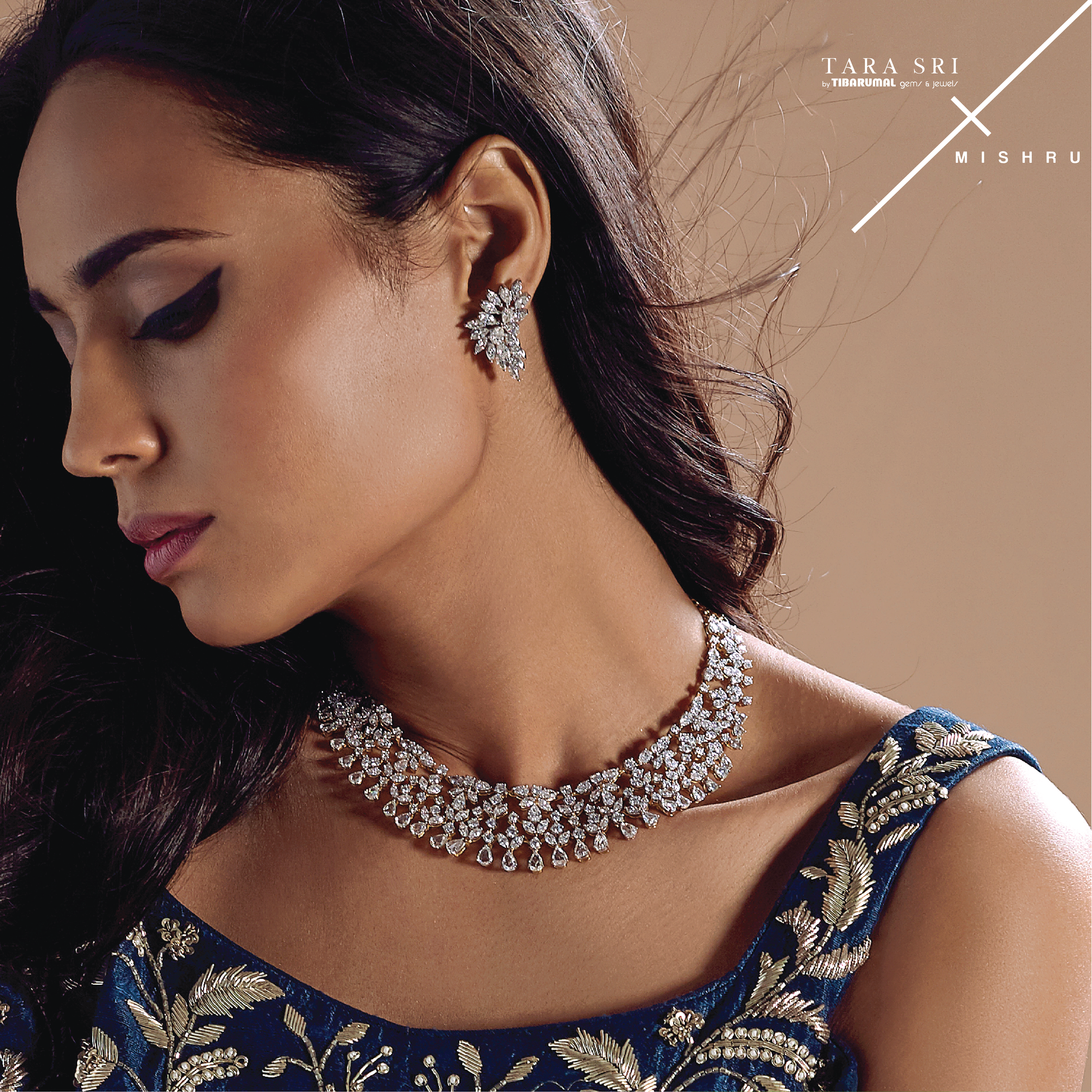 Exclusive Diamond jewellery to answer all your wedding needs at TARA