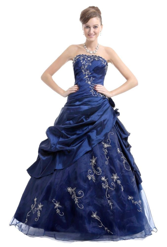 FairOnly Women\'s Evening Formal Dress Prom Ball Gown Stock Size 6 8 ...