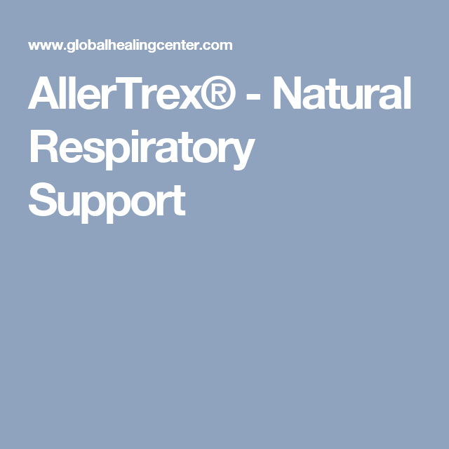 Allertrex Natural Respiratory Support Lung Cleanse Respiratory Cleanse