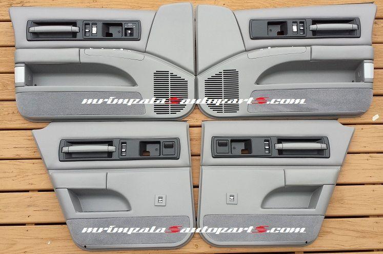94 96 Impala Ss Or Caprice Door Panel Set Refurbished In Stock Gray Complete