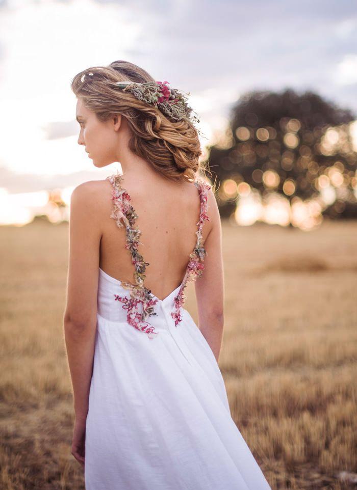 Vestidos de novia para fiesta en el campo