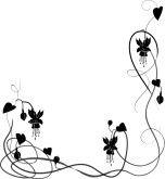 Clip Art Wedding Borders Free Wedding Flower Borders Floral