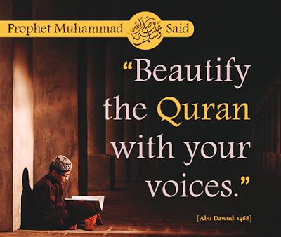 I Love Islam: Daily Hadith-Reciting Quran in beautiful Voice