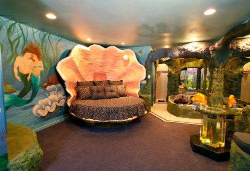 Camera Da Letto Camera Da Letto Sirena Camere Disney Temi Per Camera Da Letto