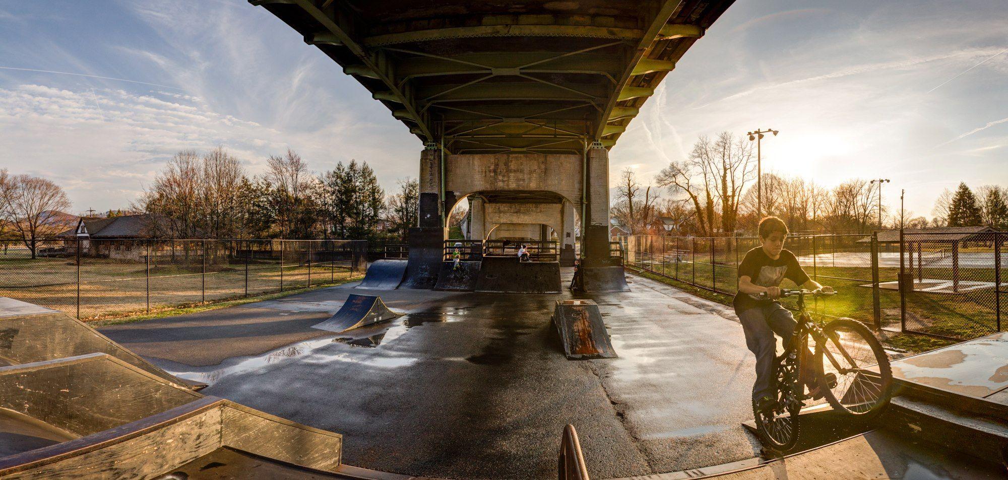 Wasena Park Under Bridge Photo By Adam Thompson Roanoke Va Roanoke Historical Landmarks