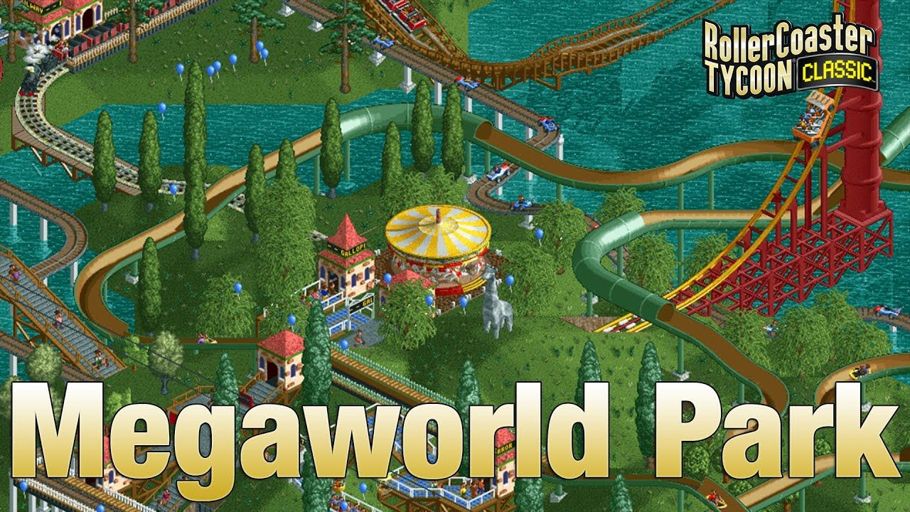 Rollercoaster Tycoon Classic - Gold Group - Megaworld Park