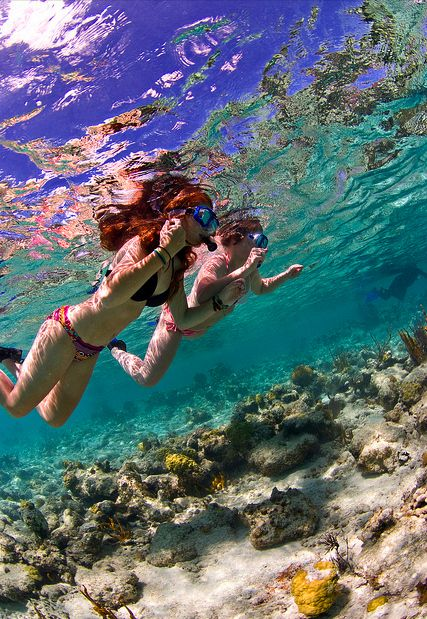 Snorkeling in Waterlemon Cay / St John / USVI ...