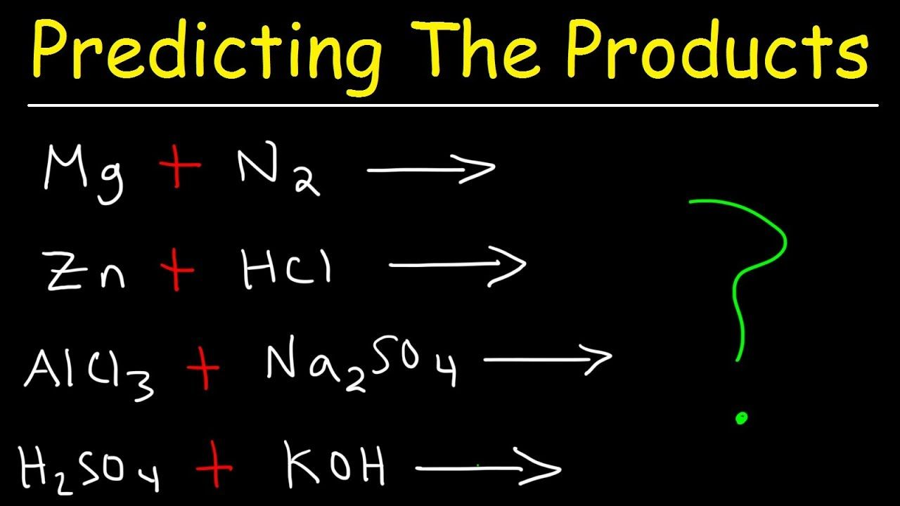 Predicting The Products Of Chemical Reactions Chemistry Examples And P Apologia Physical Science Chemistry Chemical Reactions