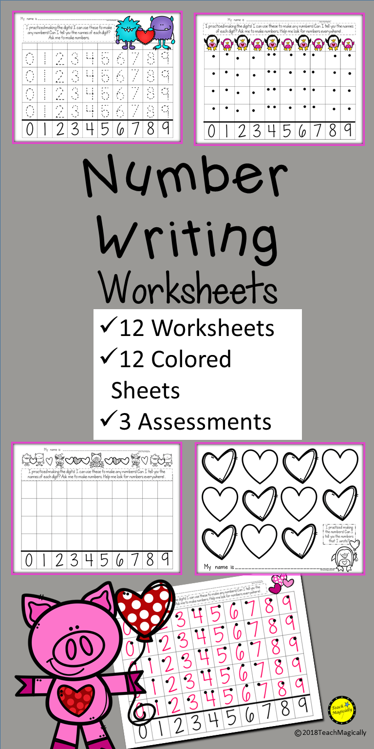 Practice Number Writing For Kindergarten With These Cute Worksheets Practice With Numbers 0 9 Writing Numbers Writing Numbers Kindergarten Learning Worksheets [ 1536 x 768 Pixel ]