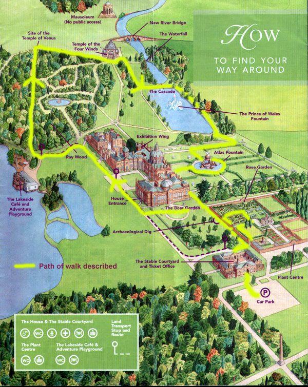 Castle Howard Map