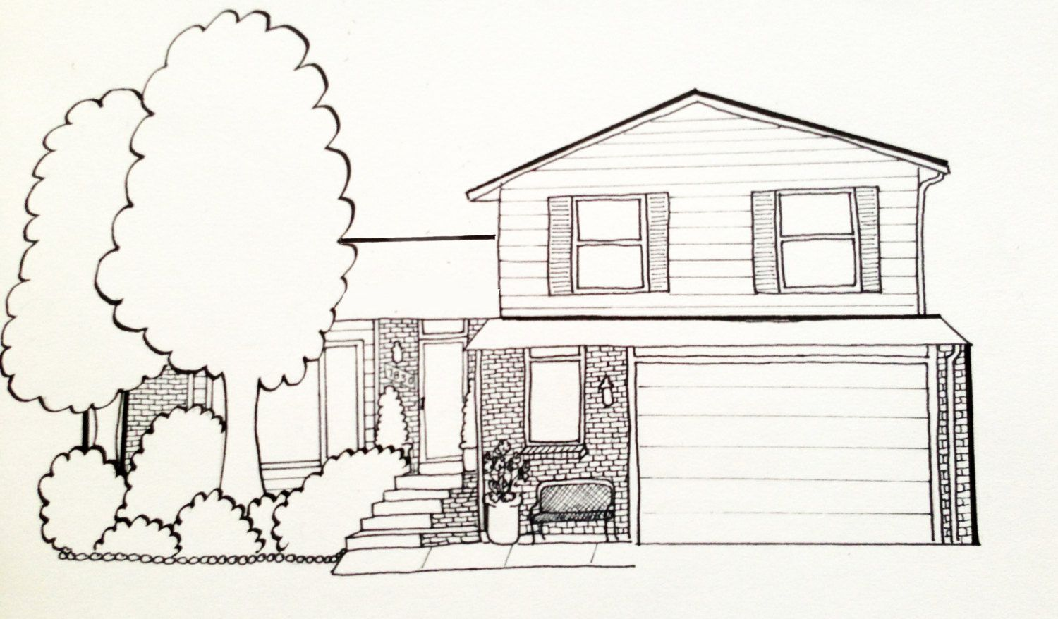 Lovely House Drawing Ideas